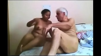 desi maid fucked hard by old.