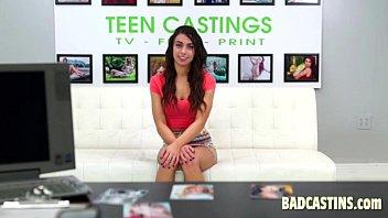 teen model gets interviewed