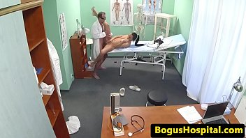 doctor fucks cocksucking nurses pussy