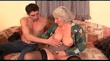 big tits hairy milf gets pov.