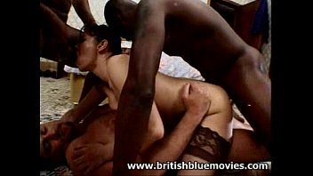 eva brown interracial british gang bang.