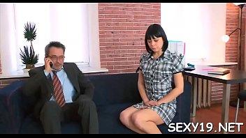 mature teacher is subduing juvenile babe&#039_s.