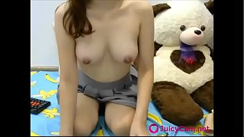 sexy japanese schoolgirl gets naked on cam -.