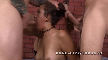 latina totally smashed by white cocks