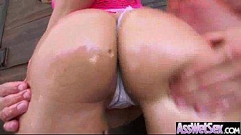 (london keyes) girl with big round ass enjoy.