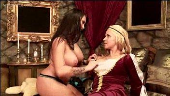 big titties and girl on girl