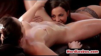 sensual massage - lesbian sex - lolafoxx &amp_ abigailmac