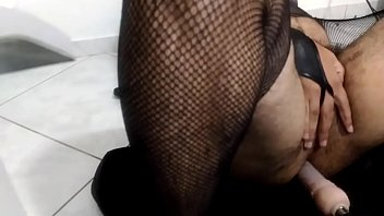 kink sissy guy fucks his ass with fucking.