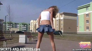 my tiny little panties feel good on my.