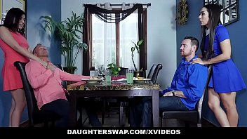 daughterswap - two teen daughters swap and fuck.