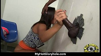 white milf sucking and licking a black cock 22