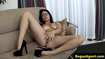 spex amateur banged hard at casting.