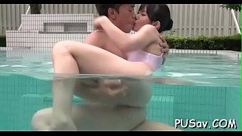 pussy stretching oriental bitch