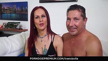 trans bella - anal sex goes both ways.
