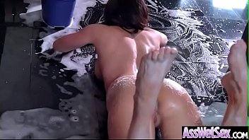hard anal sex with hot big wet butt.