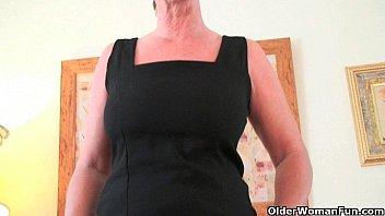 classy grandma with big tits wears.