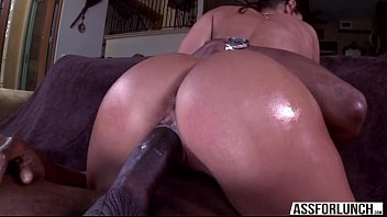 brunette goes hardcore pussy fucked by a big.