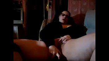 fat lady masturbates and cums! -.