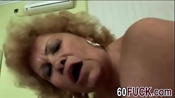 dirty granny blows stiff cock and.