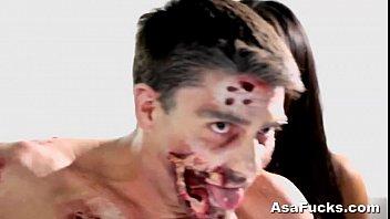 asa akira&#039_s zombie anal creampie
