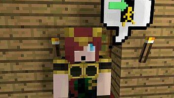 minecraft cow girl