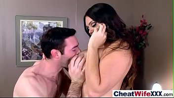 hard sex action with slut cheating hot wife.