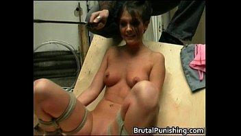 hard-core fetish and brutal punishement