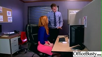 (lauren phillips) big tits horny office girl get.