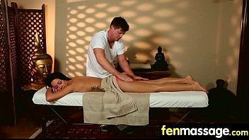 fantasy massage babe gets a house.
