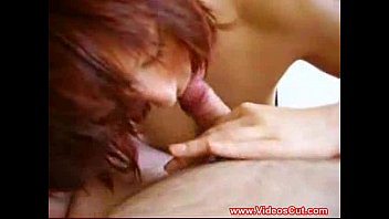 asian gal sucking a small dick