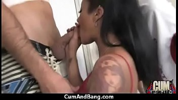 swallowing sperm makes her horny 25