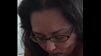 my fuck buddy sucking her husbands cock and.