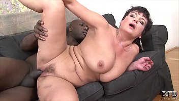 granny hardcore fucked by black man in her.