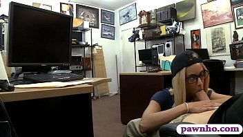 tight girl with glasses gets banged.