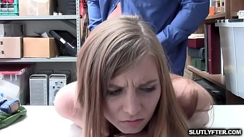 caught shoplyfter ava parker got screwed.