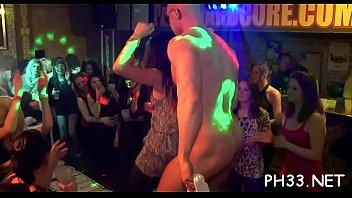 cheeks in club drilled undress dancer