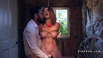 dude rough anal fucks huge tits.