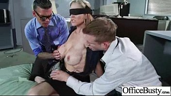 sex tape in office with huge round juggs.
