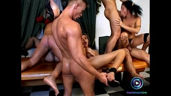 nasty tranny and studs organize a one of.