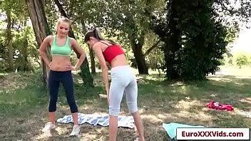 euro xxx party - gina loves swaberry with.