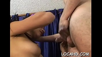 excited and horny girl is riding on a.