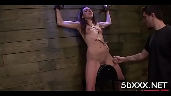 restrained doxy gets huiliated as she&#039_s coercive to deepthroat