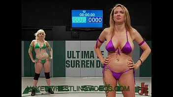 lesbians naked wrestling and strapon cock.