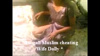 desi bengali muslim wife dolly cheating.