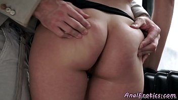lovely eurobabe gets assfucked on the.