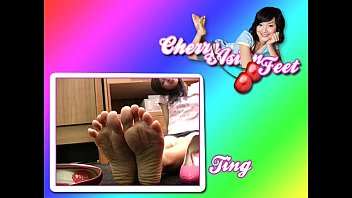 cherry asianfeet - model ting