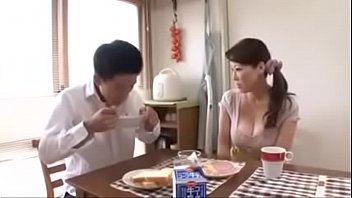 busty japanese stepmoms and their sons - watch.