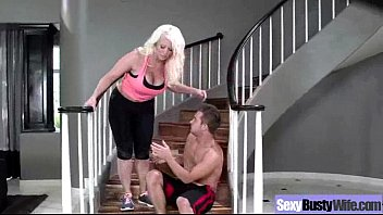 (alura jenson) busty hot mature housewife get sluty.