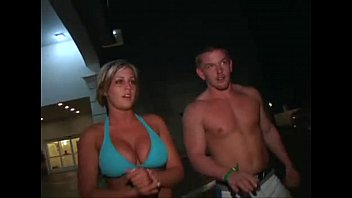 college blonde with big tits gets picked up.
