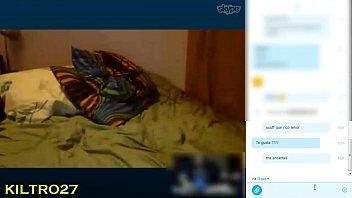 skype con claudia una chilena muy.